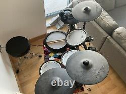 ROLAND TD17 KVX Electronic Drum Kit (Iron Cobra Hi-Hat stand & Throne Included)