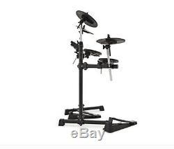 Rockklik Beat Electronic/Electric 5-Piece Drum Kit with Symbols/Headphones/Stool
