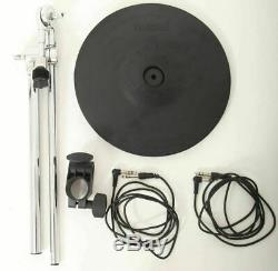Roland CY-12R/C 12 Electronic 3 Zone Ride/Crash Cymbal + BOOM & CLAMP & LEADS