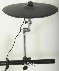 Roland CY-14C 14 Electronic Dual Trigger Crash Cymbal + Boom Arm + Clamp + Lead