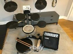 Roland HD1 Electronic Drum Kit with Acoustic Amp Laney A1