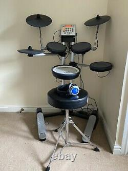 Roland HD-3 V-drums Lite Electronic Drum Set, Stagg Headphones, Mapex Stool