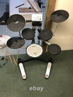Roland Hd-1 Electric Electronic Digital Drum Kit Set Full Set Up