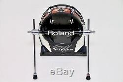 Roland KD-120BK 12 Black Electronic Bass Drum Trigger Pad For Electric TD Kit