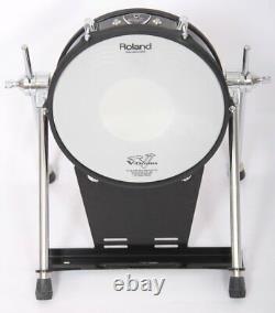 Roland KD-120BK 12 Mesh Head Black Fade Electronic Bass Drum Trigger Pad 1