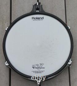 Roland PD-125BK Black 12 Dual Trigger Mesh Electronic Drum Pad Electric Kit