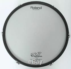 Roland PD-125XS 12 WHITE SNARE Dual Trigger Mesh Electronic Drum Pad