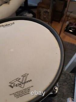 Roland PD-125XS SV 12 Silver Mesh SNARE Pad Dual Trigger Electronic (120 128)