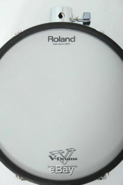 Roland PD-125X 12 WHITE Dual Trigger Mesh Electronic Drum Pad