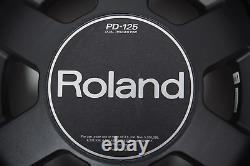 Roland PD-125 WHITE 12 Dual Trigger Mesh Electronic Drum Pad For Electric Kit