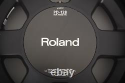 Roland PD-128BC 12 Black Chrome Dual Trigger Mesh Snare/Tom Electronic Drum Pad