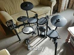 Roland TD11K Electronic Drumkit, withDouble bass pedal & throne