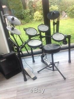 Roland TD1DMK V-Drum Electronic Drum Kit And Everything Needed To Start