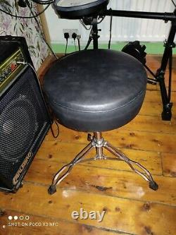 Roland TD3 electronic drum kit with, sticks, stool and amplifier