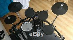Roland TD4 electronic drum kit with extras