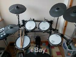 Roland TD6V Electronic Drum Kit upgraded