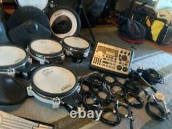 Roland TD8 Electronic Drum Kit Mesh Heads + Extra PD7 Pad + Roland PM 200 Amp