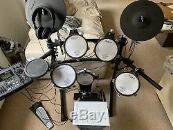 Roland TD8 Electronic Drum Kit With Stool, Pedals, Roland Headphones And Module