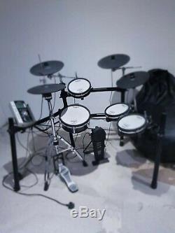 Roland TD9KX Electronic Drum Kit Good condition 4 symbols