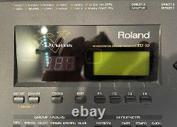 Roland TD-10, EXPANDED TDW-1 Module V Drums electronic & Manual, & M512-E