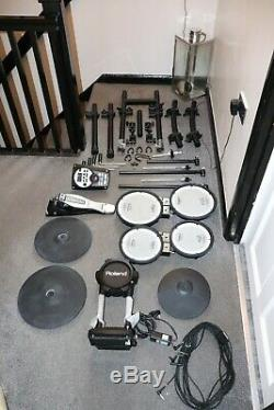 Roland TD-11KV Electronic Drum Kit, excellent condition hardly used with extras