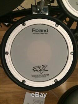 Roland TD-11KV Electronic Drum Kit stool sticks headphones package extra cymbal