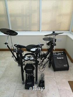 Roland TD-11 Electronic Drum Kit with Personal Monitor Amplifier
