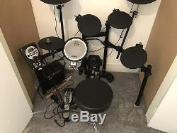 Roland TD-11 Professional electronic drum kit, with amp, stool, sticks