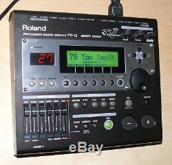Roland TD-12K V Drums electronic kit vh 11 hi hat Excellent set VEX pack