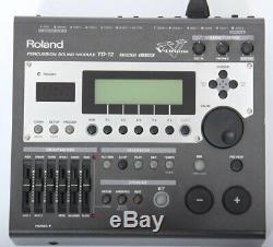 Roland TD-12 Electronic Drum Kit Module / Brain + 16 VEX Packs