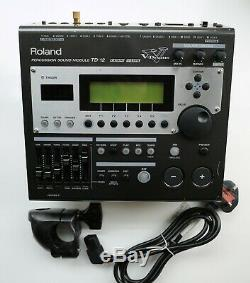 Roland TD-12 Module Brain for Electronic Drum Kit. + Mount + Power Lead
