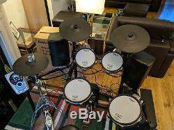 Roland TD-15KV Electronic Drum Kit + M-Audio Subwoofer and Behringer Speakers