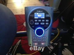 Roland TD-15 Electronic Drum Module with Wiring Loom Power Supply and Mount