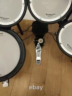 Roland TD-17KV Electronic Drum Kit +Mapex Kick Pedal and Laney AH80 Amp