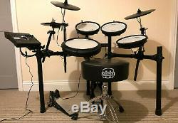Roland TD-17KV Electronic Drum Kit / Percussion Set + Bass Drum Pedal + Throne