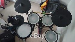 Roland TD-17 KV Electronic Drum kit, RDV-RV drum stool, RH200 and DW5000 pedal