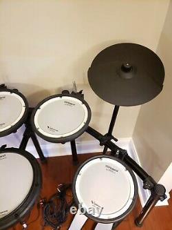 Roland TD-17 KV-S V-Drums Electronic Kit With KT-10 Kick Pedal Lightly Used