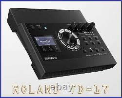 Roland TD-17 V Drums electronic module set GREAT upgrade & 2 extra cables #1