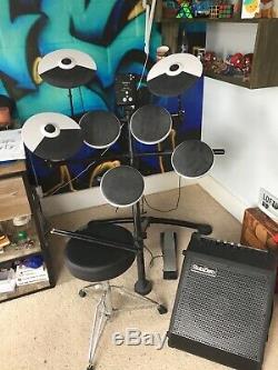 Roland TD-1K Electronic V Drum Kit and SubZero DR-30 Amp