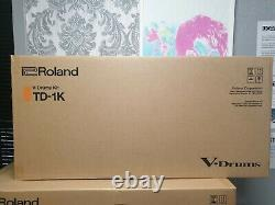 Roland TD-1K V-Drums Electronic Drum Kit, brand new, full Roland warranty