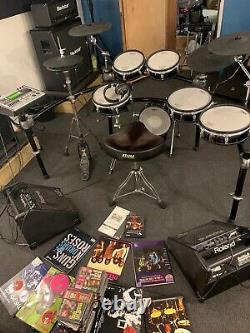 Roland TD-20 Electronic Drum Kit Excellent Condition Inc Monitors, Stool Etc