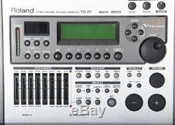Roland TD-20 Electronic Drum Kit Module / Brain + 16 VEX Packs