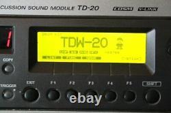 Roland TD-20 Expanded TDW-20 Electronic Drum Kit Module / Brain