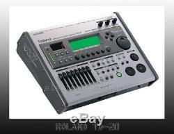 Roland TD-20 V Drums brain electronic module (9 VEX PACKS) CF card SCREEN GOOD