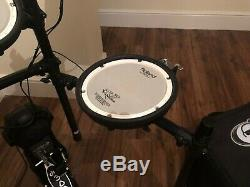 Roland TD-25K Electronic V-Drum Kit with DW 3000 Hardware & Protection Racket Case