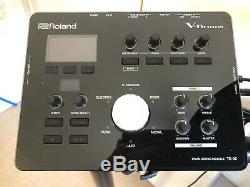 Roland TD-25K V-drums Electronic Drum Kit. Perfect Condition. Inc Pedals + More