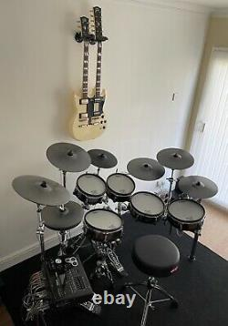 Roland TD 30KV electronic drum set with extra cymbals and mat. Immaculate