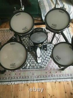 Roland TD-30 electronic. Drumkit, 8-way recording loom + hardware