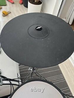 Roland TD-50 Electronic Drum Set Custom Shells, Metal Cymbals, Extra Toms