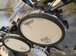 Roland TD-6V Electronic V-Drums Kit GREAT CONDITION BARGAIN TD-17 KVX